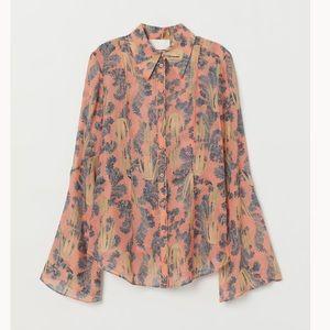 H&M Conscious Silk top